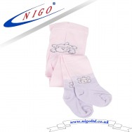 Kids tight - Winnie the Pooh, Reinforce Heel and Toe, Pack of one pair (pink)